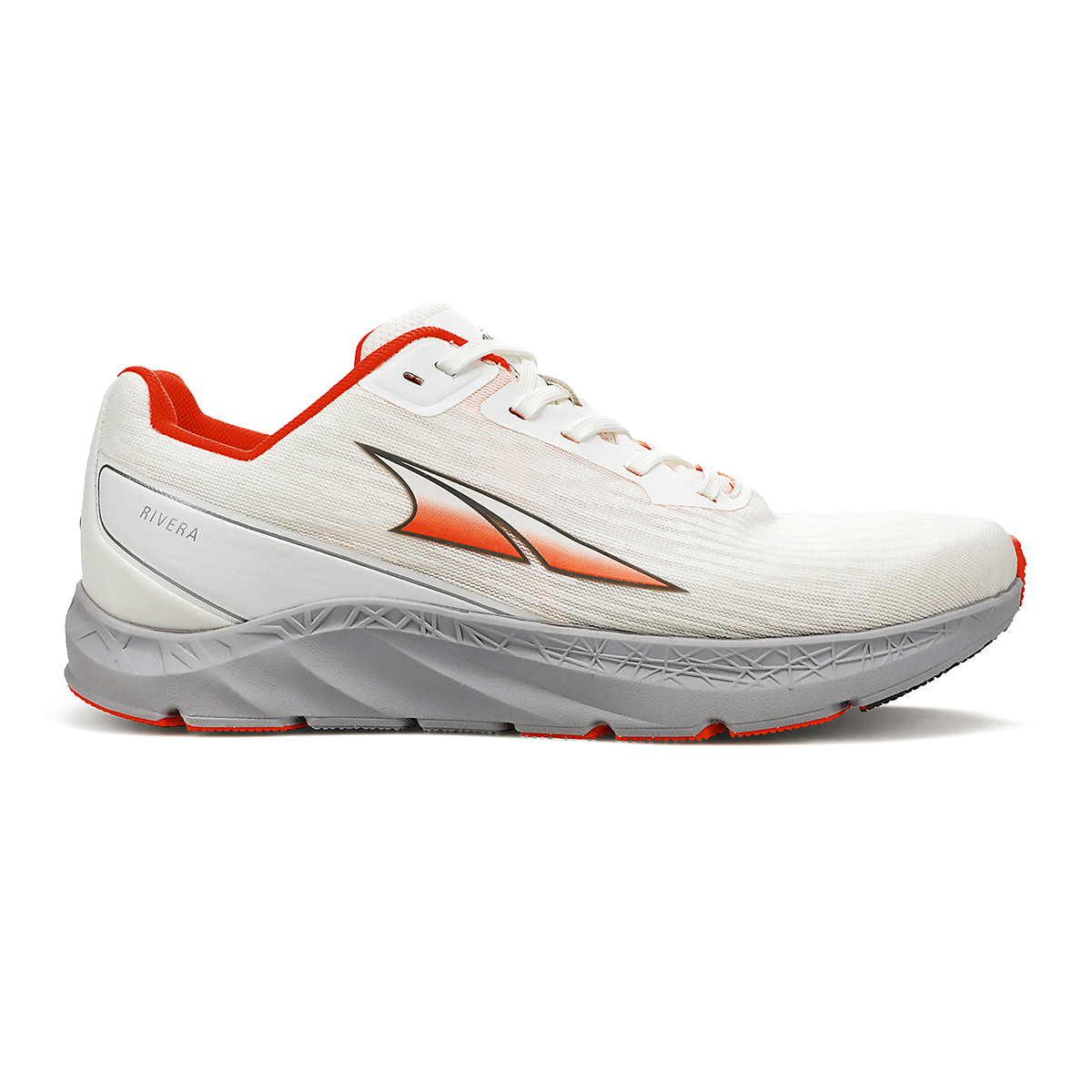 Women's Altra Rivera Running Shoe - Color: White/Coral - Size: 5.5 - Width: Regular, White/Coral, large, image 1