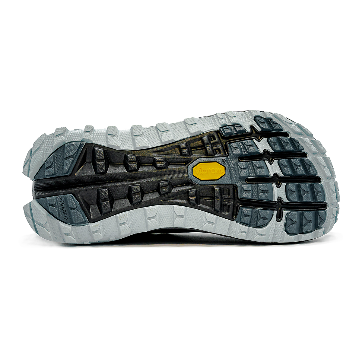 Women's Altra Olympus 4 Trail Running Shoe - Color: Black/Light Blue - Size: 5.5 - Width: Regular, Black/Light Blue, large, image 4