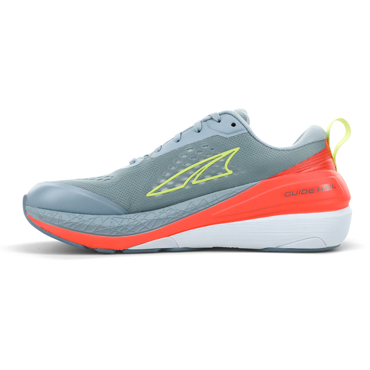 Women's Altra Paradigm 5 Running Shoe - Color: Gray/Coral - Size: 5.5 - Width: Regular, Gray/Coral, large, image 2