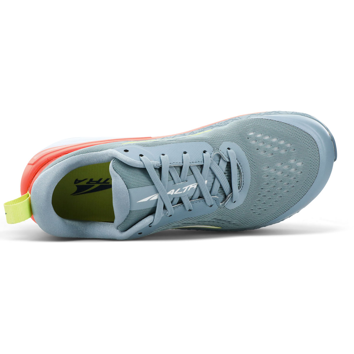 Women's Altra Paradigm 5 Running Shoe - Color: Gray/Coral - Size: 5.5 - Width: Regular, Gray/Coral, large, image 3
