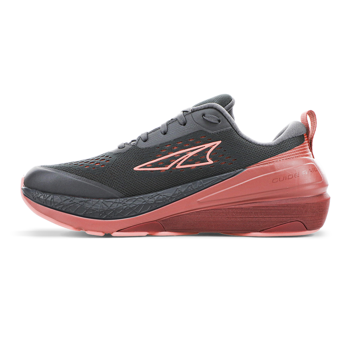 Women's Altra Paradigm 5 Running Shoe - Color: Gray/Coral/Port - Size: 8 - Width: Regular, Gray/Coral/Port, large, image 4