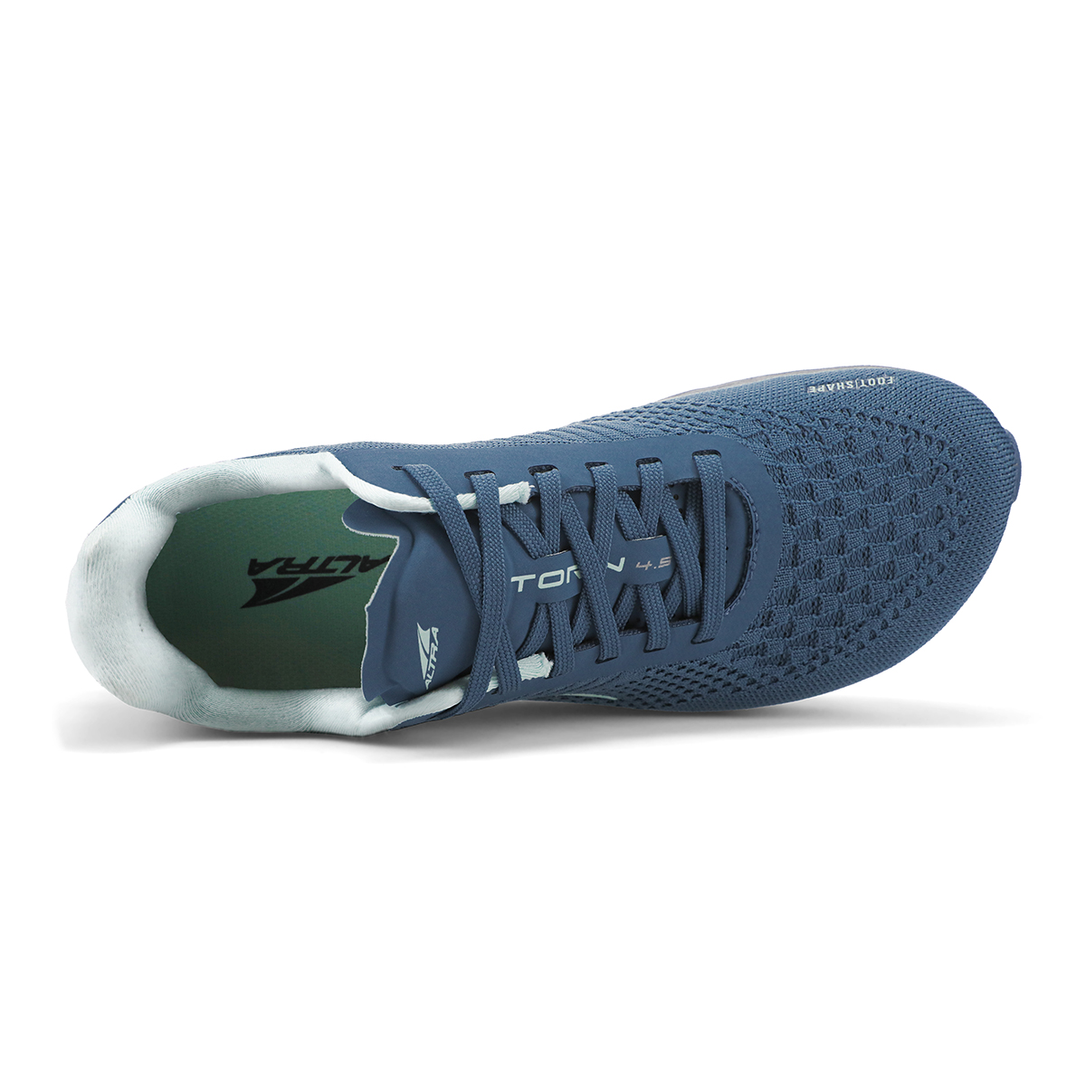 Women's Altra Torin 4.5 Plush Running Shoe - Color: Blue - Size: 7 - Width: Regular, Blue, large, image 2