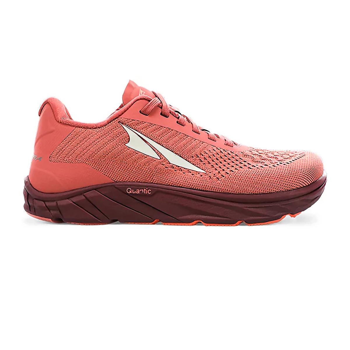 Women's Altra Torin 4.5 Plush Running Shoe - Color: Misty Rose - Size: 5.5 - Width: Regular, Misty Rose, large, image 1