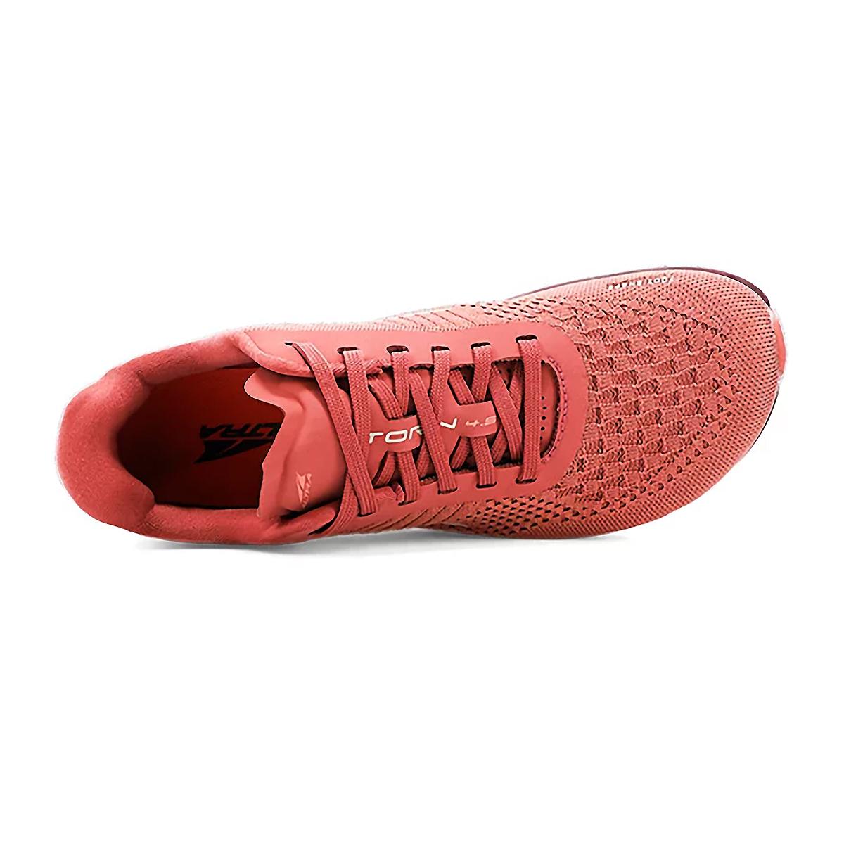 Women's Altra Torin 4.5 Plush Running Shoe - Color: Misty Rose - Size: 5.5 - Width: Regular, Misty Rose, large, image 3