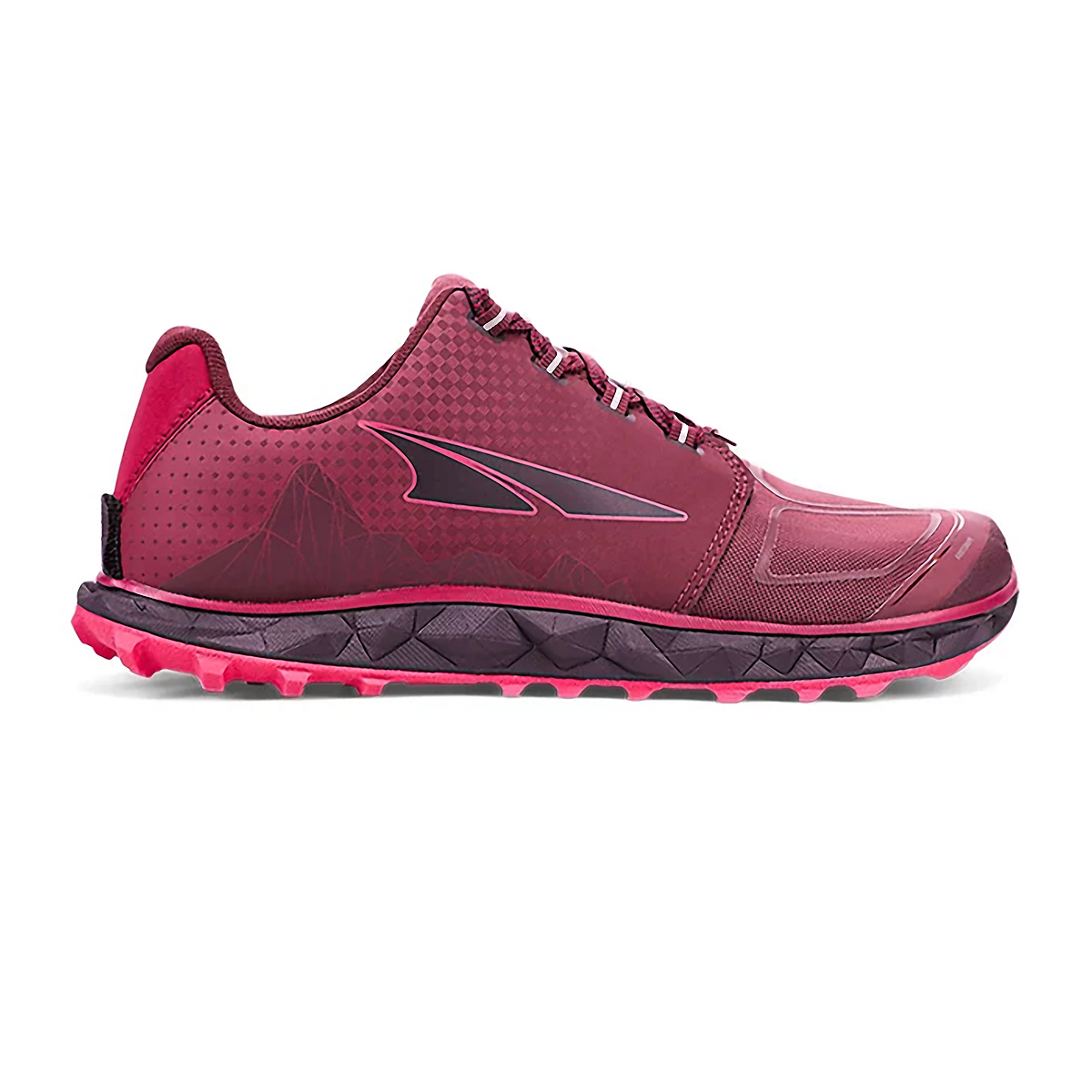Women's Altra Superior 4.5 Trail Running Shoe - Color: Black/Pink - Size: 6 - Width: Regular, Black/Pink, large, image 1