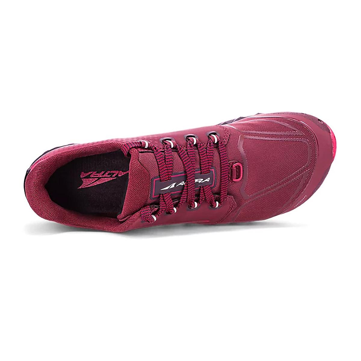 Women's Altra Superior 4.5 Trail Running Shoe - Color: Black/Pink - Size: 6 - Width: Regular, Black/Pink, large, image 3