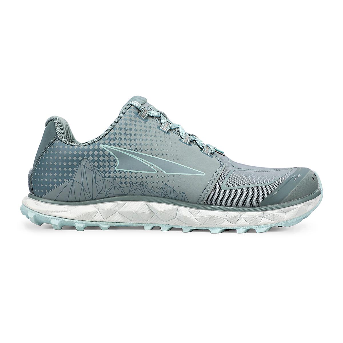Women's Altra Superior 4.5 Trail Running Shoe - Color: Light Blue - Size: 5.5 - Width: Regular, Light Blue, large, image 1