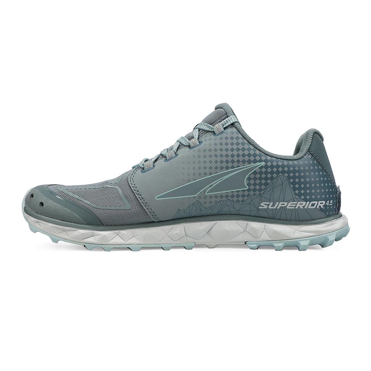 Women's Altra Superior 4.5 Trail Running Shoe - Color: Light Blue - Size: 5.5 - Width: Regular, Light Blue, large, image 2