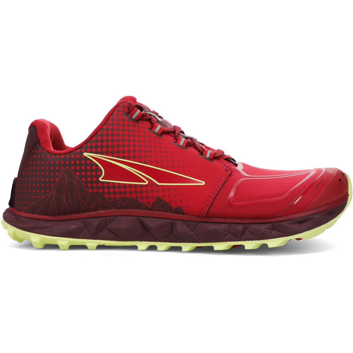 Women's Altra Superior 4.5 Trail Running Shoe - Color: Raspberry - Size: 5.5 - Width: Regular, Raspberry, large, image 1