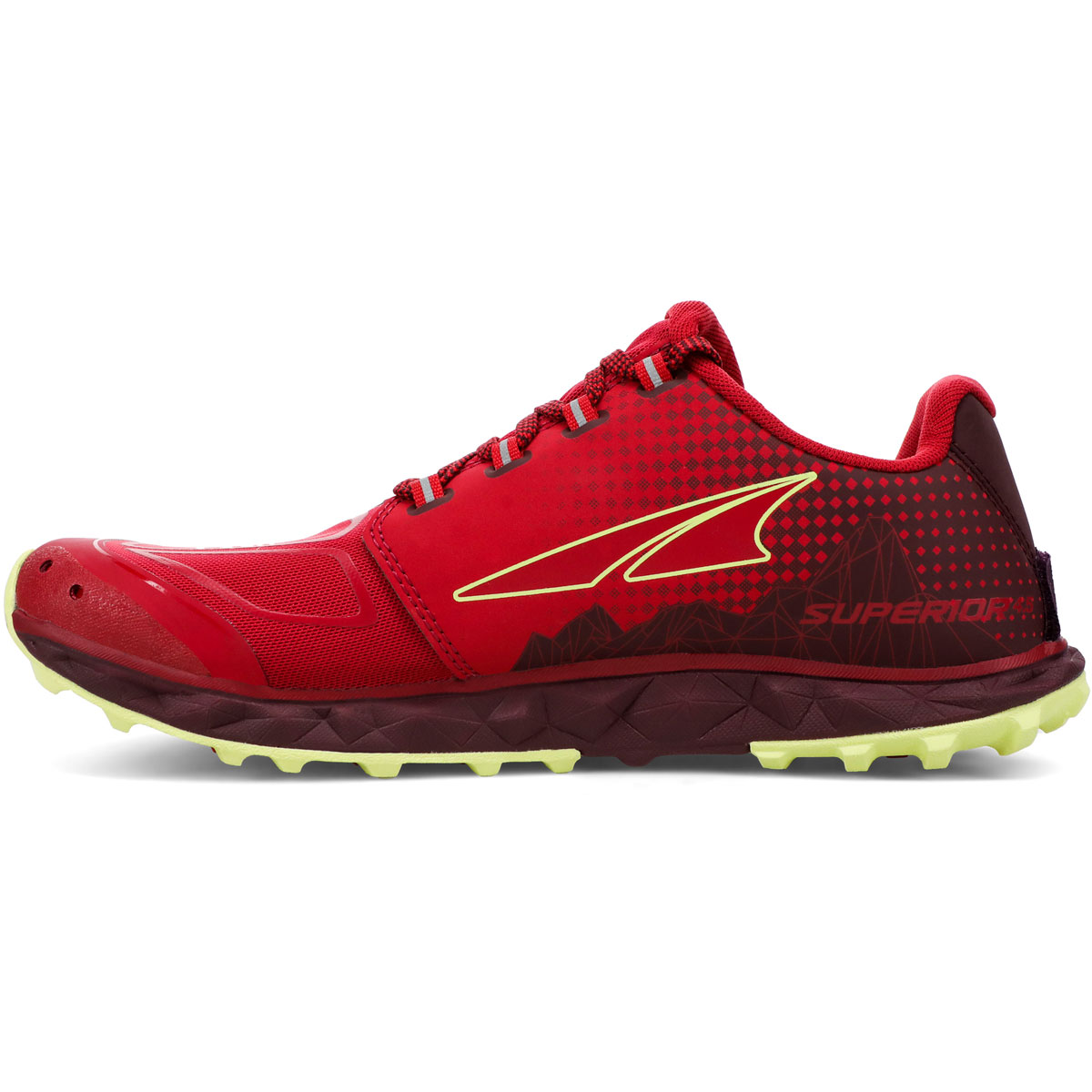Women's Altra Superior 4.5 Trail Running Shoe - Color: Raspberry - Size: 5.5 - Width: Regular, Raspberry, large, image 2