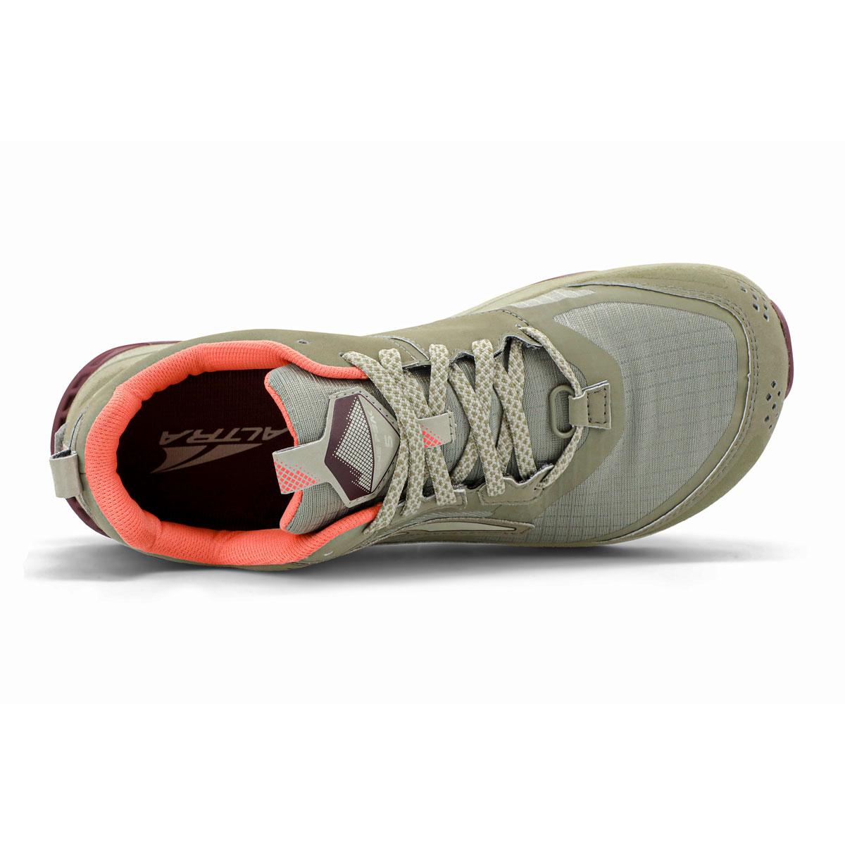 Women's Altra Lone Peak 5 Trail Running Shoe - Color: Khaki - Size: 5.5 - Width: Regular, Khaki, large, image 3