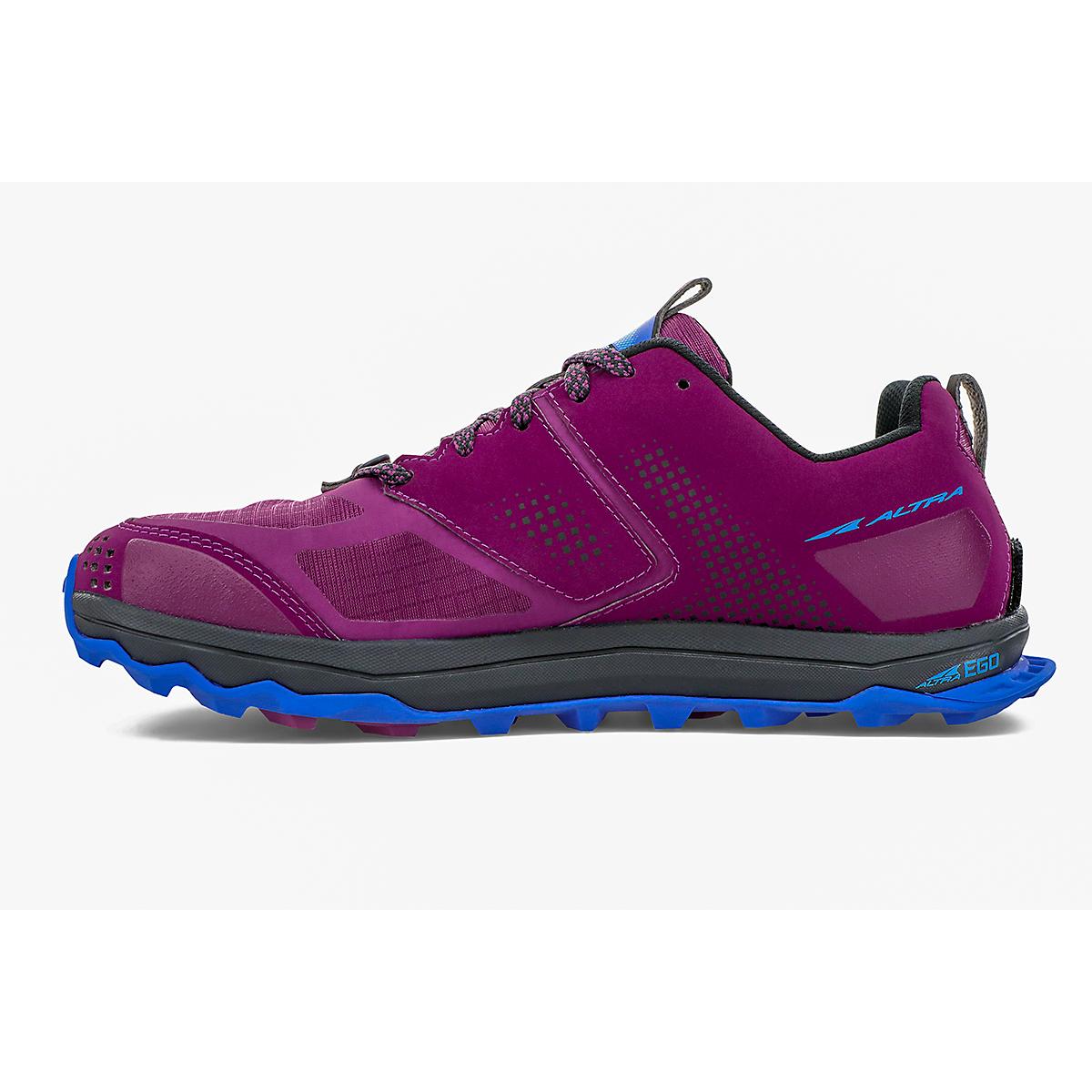 Women's Altra Lone Peak 5 Trail Running Shoe - Color: Plum - Size: 5.5 - Width: Regular, Plum, large, image 2