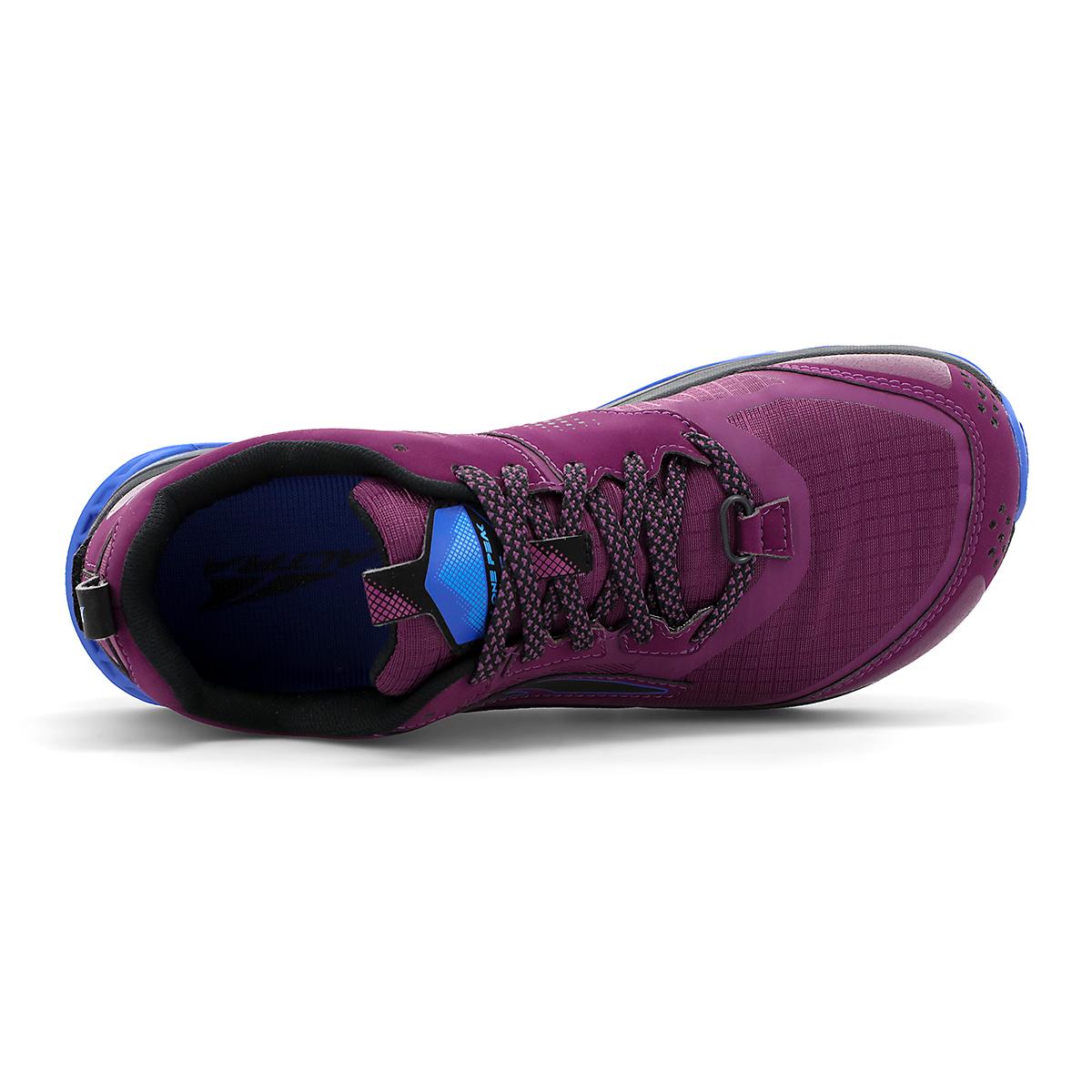 Women's Altra Lone Peak 5 Trail Running Shoe - Color: Plum - Size: 5.5 - Width: Regular, Plum, large, image 3