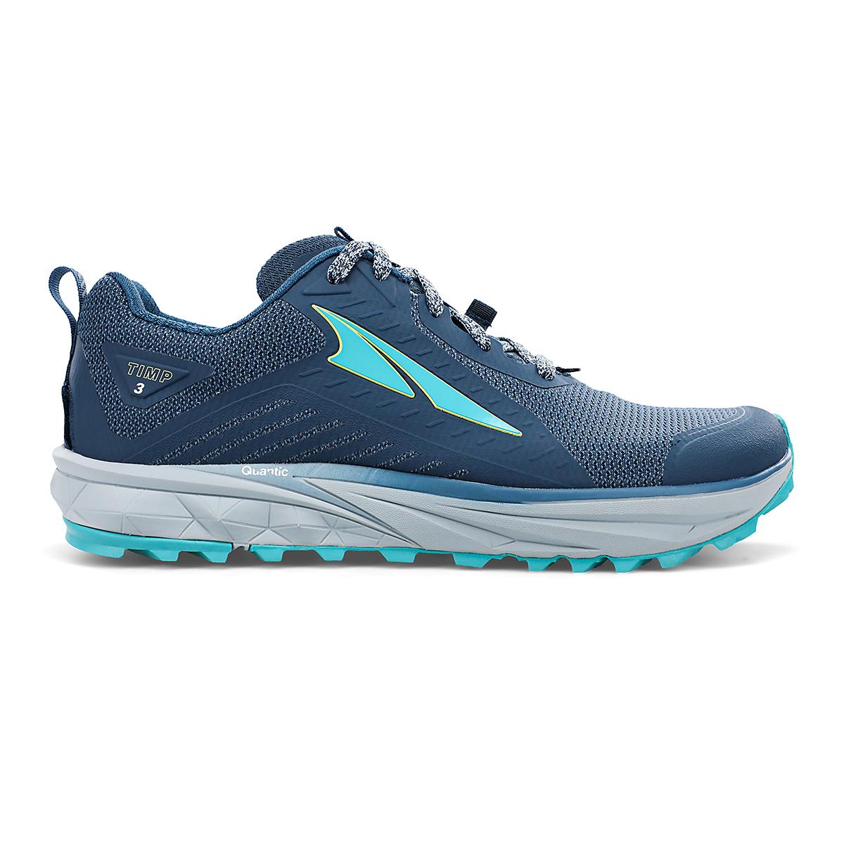 Women's Altra Timp 3 Trail Running Shoe - Color: Dark Blue - Size: 6 - Width: Regular, Dark Blue, large, image 1