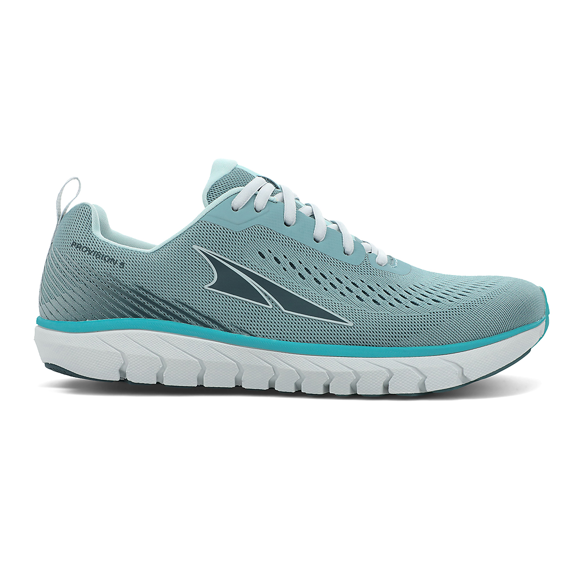 Women's Altra Provision 5 Running Shoe - Color: Teal/Green - Size: 5.5 - Width: Regular, Teal/Green, large, image 1