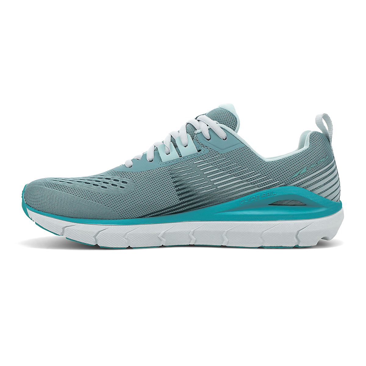 Women's Altra Provision 5 Running Shoe - Color: Teal/Green - Size: 5.5 - Width: Regular, Teal/Green, large, image 2
