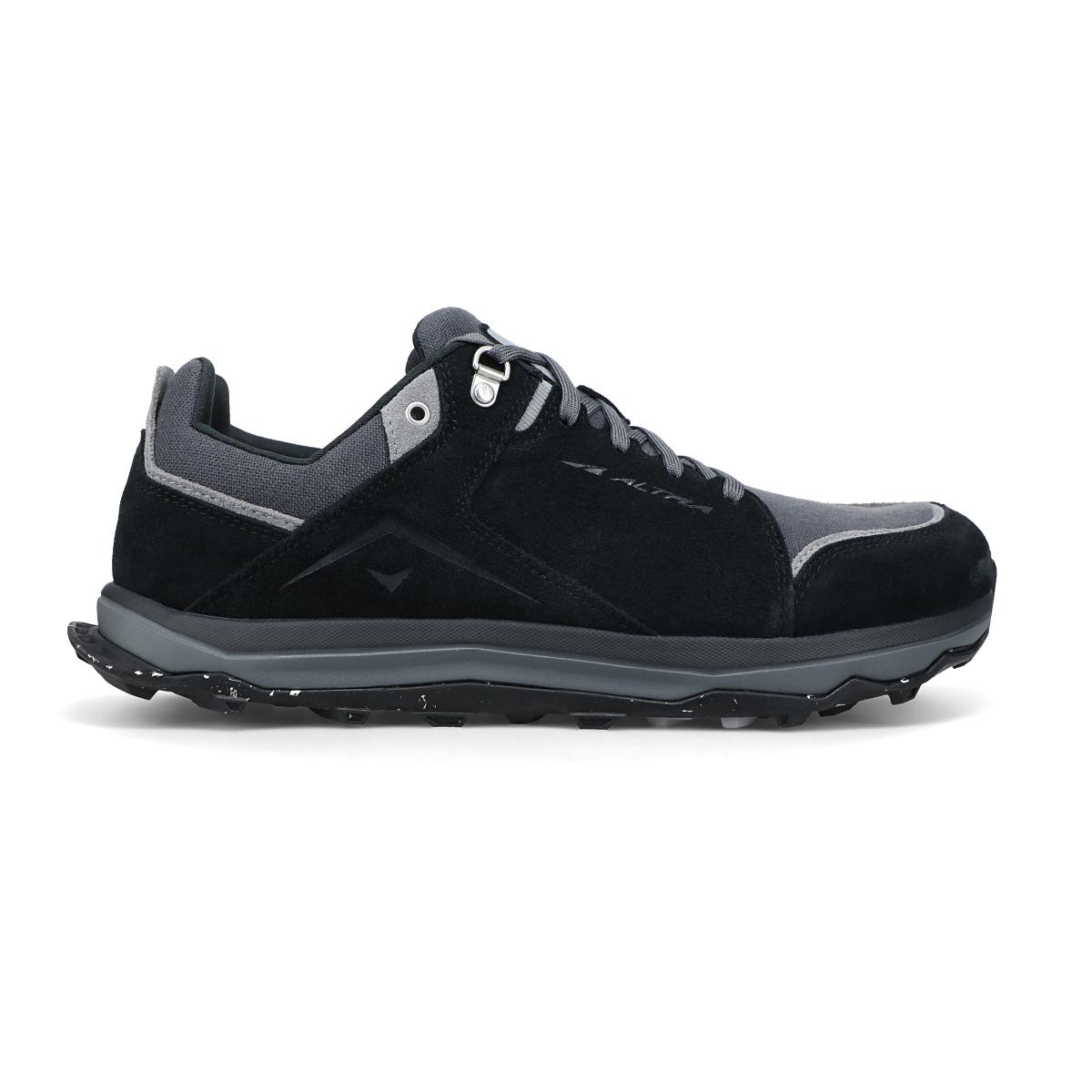 Men's Altra Lone Peak Alpine Trail Running Shoe - Color: Black - Size: 7 - Width: Regular, Black, large, image 1