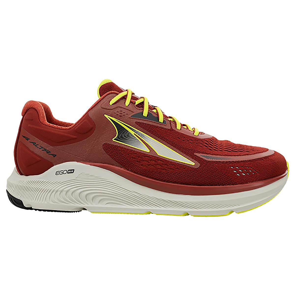 Men's Altra Paradigm 6 Running Shoe - Color: Burnt Orange - Size: 7 - Width: Regular, Burnt Orange, large, image 1