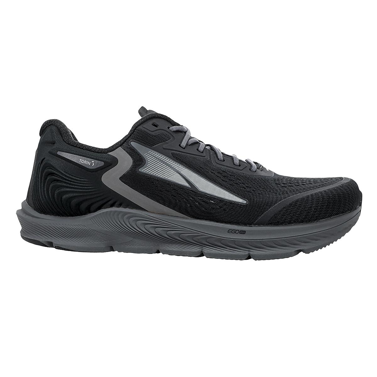 Men's Altra Torin 5 Running Shoe - Color: Black - Size: 7 - Width: Regular, Black, large, image 1