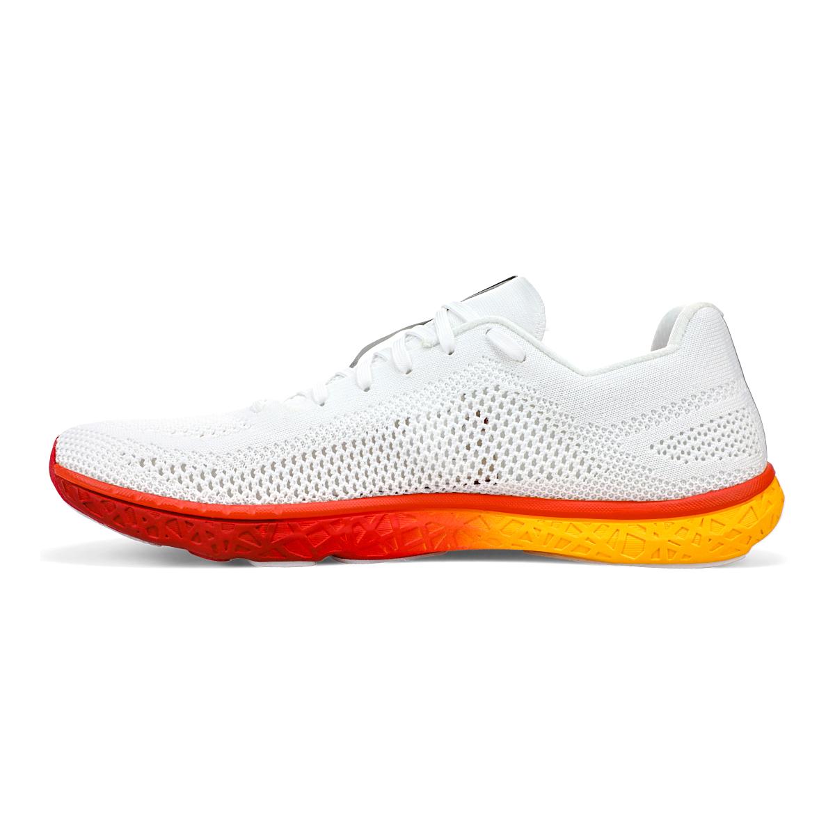 Men's Altra Escalante Racer Running Shoe - Color: White/Orange - Size: 7 - Width: Regular, White/Orange, large, image 2