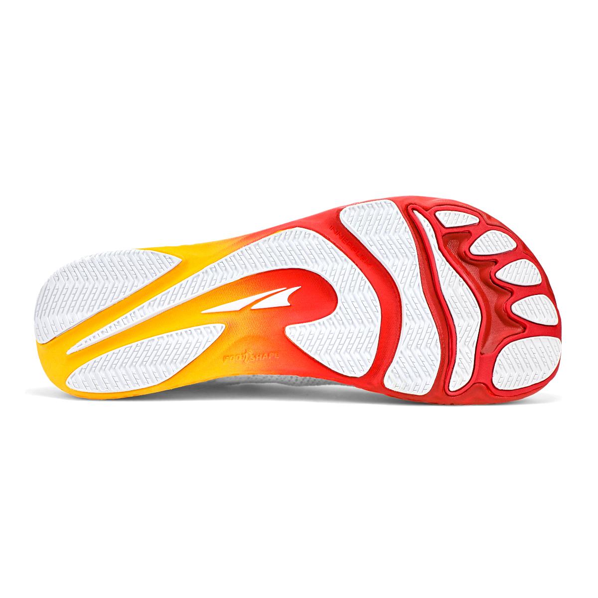 Men's Altra Escalante Racer Running Shoe - Color: White/Orange - Size: 7 - Width: Regular, White/Orange, large, image 3