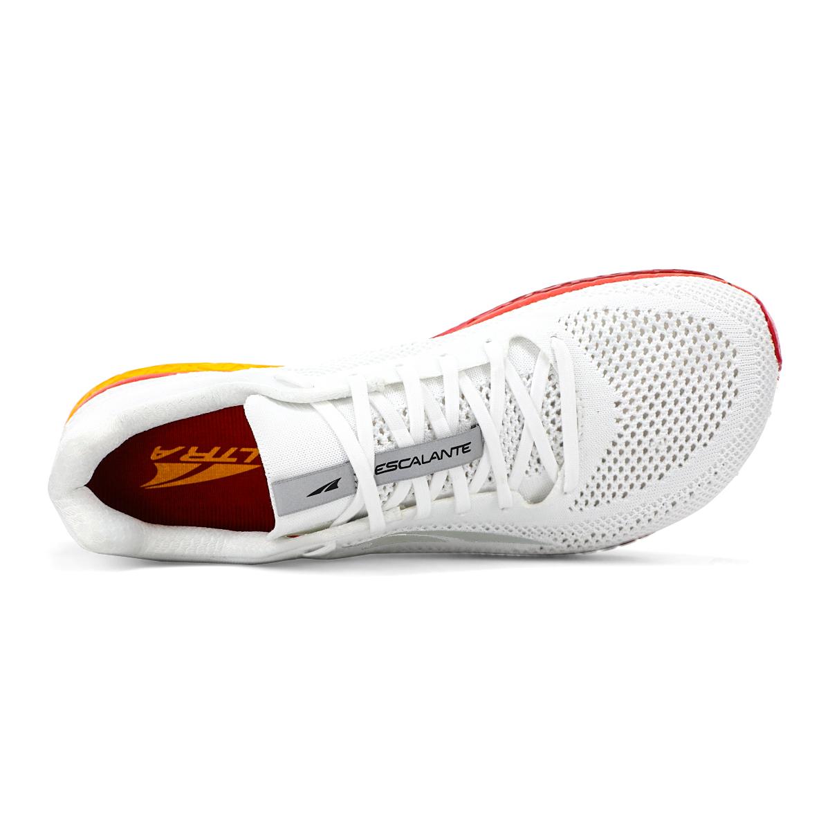 Men's Altra Escalante Racer Running Shoe - Color: White/Orange - Size: 7 - Width: Regular, White/Orange, large, image 4