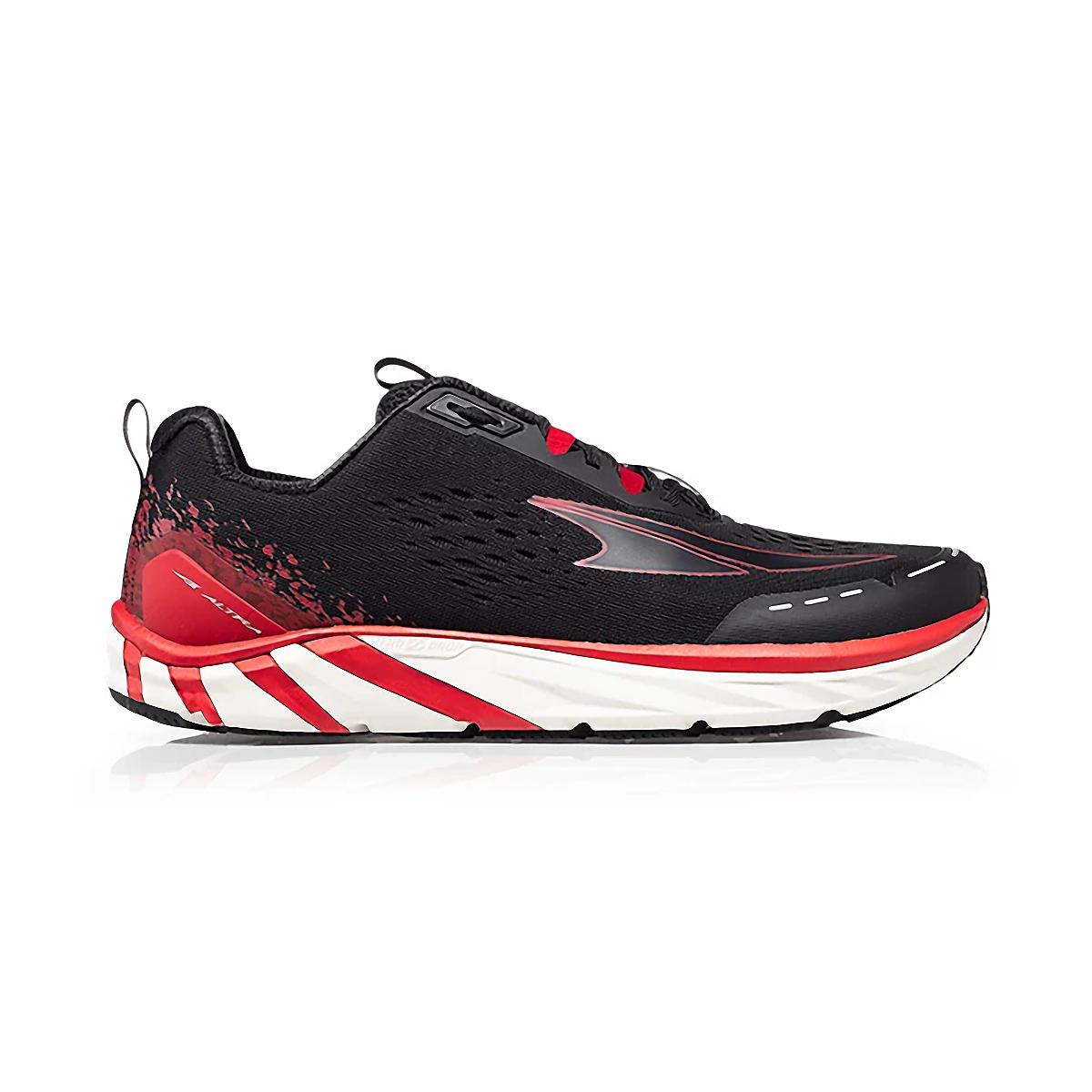 Men's Altra Torin 4 Running Shoe - Color: Black/Red - Size: 7 - Width: Regular, Black/Red, large, image 1