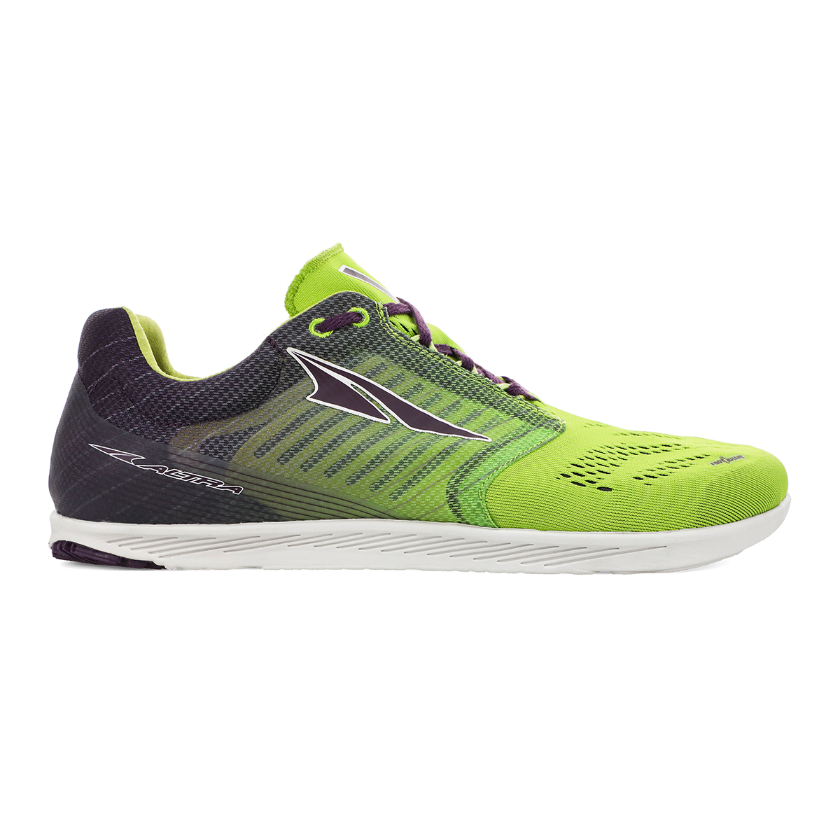 Altra Vanish R Running Shoe - Color: Macaw Green/Purple - Size: M4/W5.5 - Width: Regular, Macaw Green/Purple, large, image 1