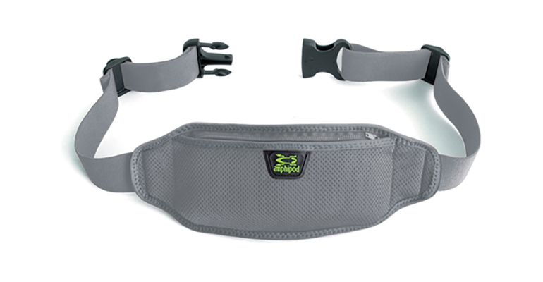 Amphipod AirFlow Lite Waistpack - Color: Charcoal - Size: One Size, Charcoal, large, image 1