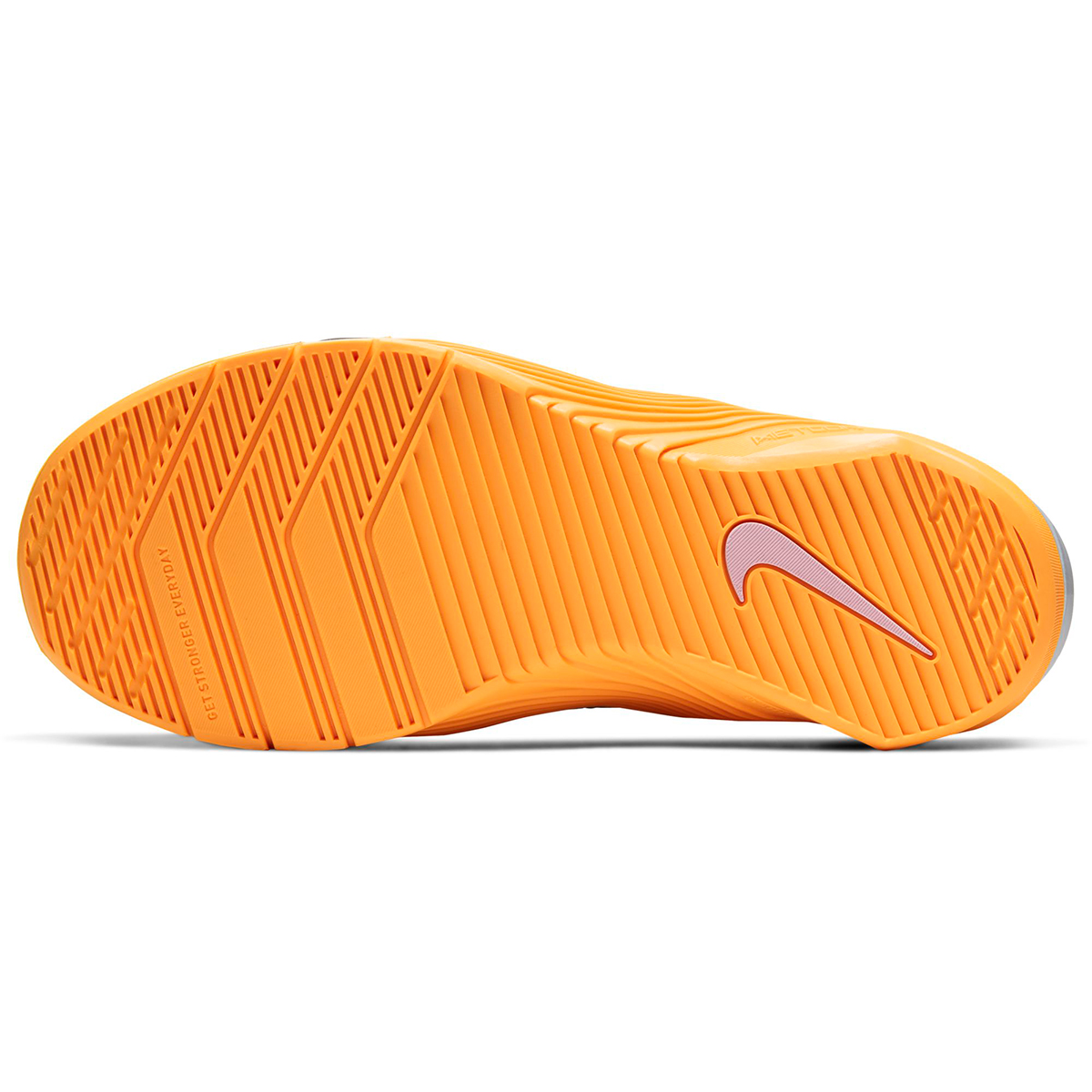 Women's Nike Metcon 5 Training Shoes - Color: Black/White/Laser Orange/Team Orange (Regular Width) - Size: 5, Black/White/Laser Orange/Team Orange, large, image 6