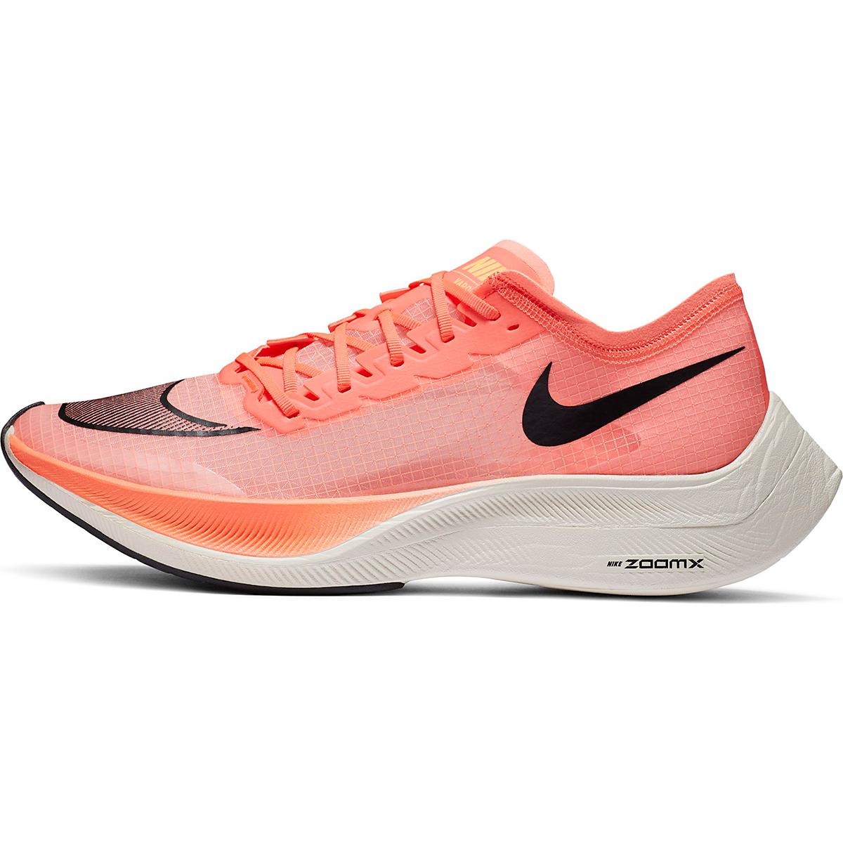 Nike ZoomX Vaporfly NEXT% Running Shoe - Color: Bright Mango/Citron Pulse - Size: M3.5/W5 - Width: Regular, Bright Mango/Citron Pulse, large, image 2