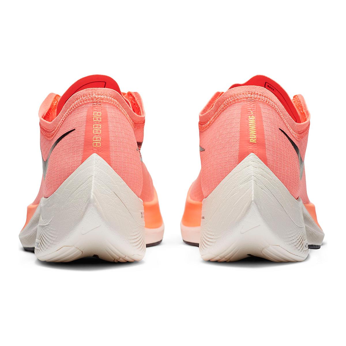 Nike ZoomX Vaporfly NEXT% Running Shoe - Color: Bright Mango/Citron Pulse - Size: M3.5/W5 - Width: Regular, Bright Mango/Citron Pulse, large, image 4