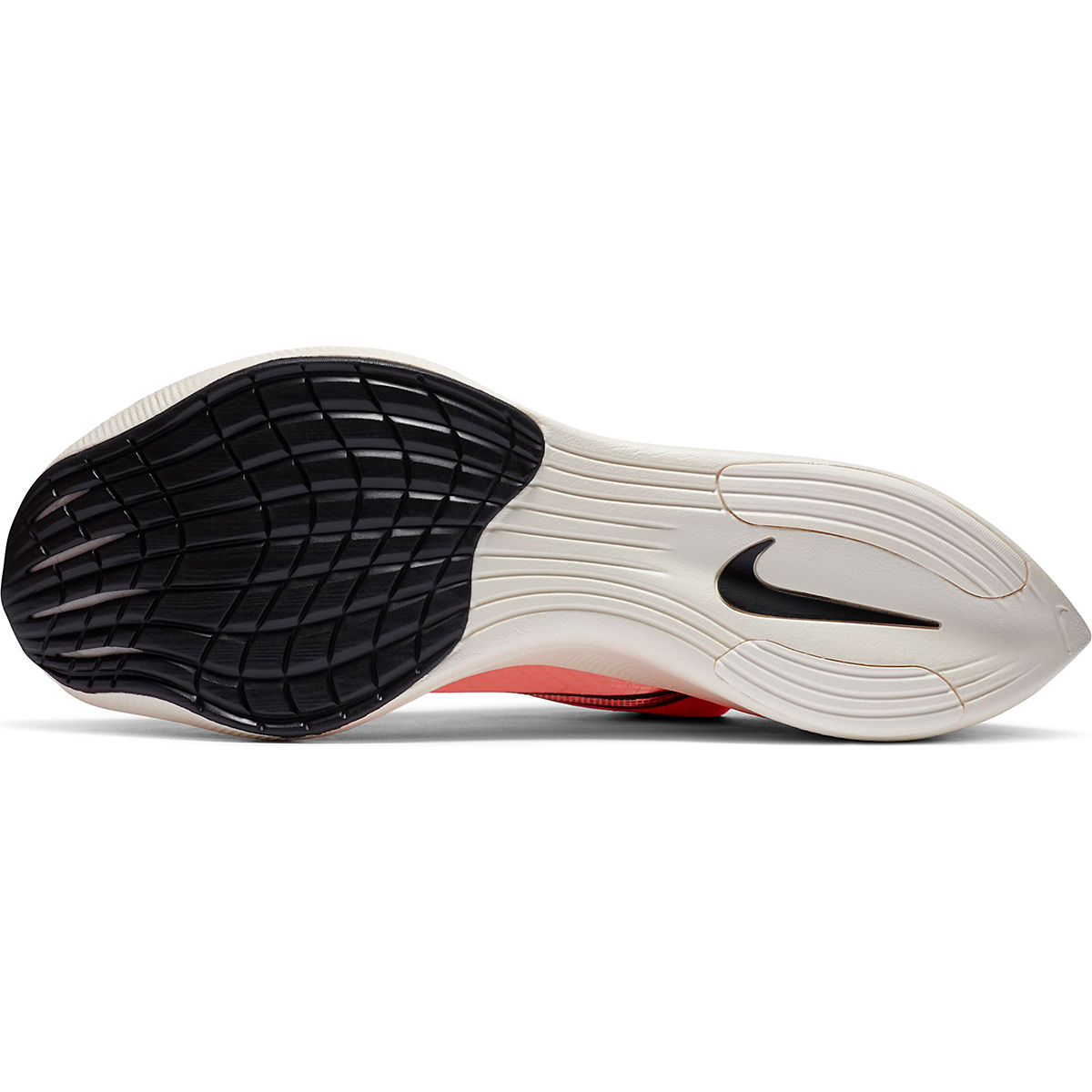 Nike ZoomX Vaporfly NEXT% Running Shoe - Color: Bright Mango/Citron Pulse - Size: M3.5/W5 - Width: Regular, Bright Mango/Citron Pulse, large, image 5