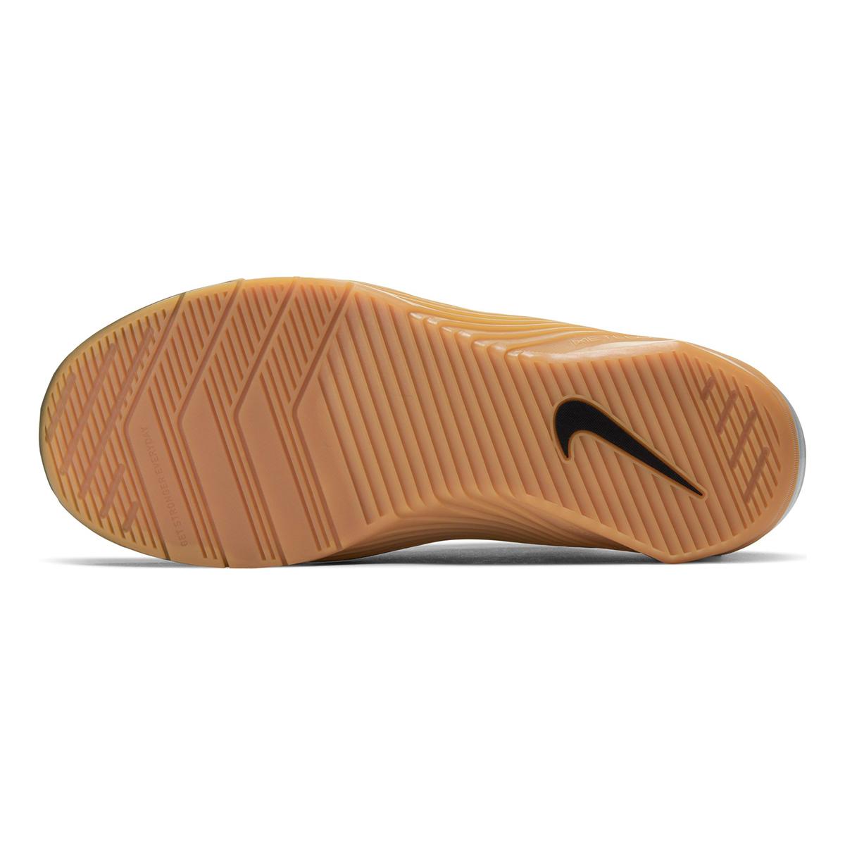 Men's Nike Metcon 5 Training Shoes  - Color: Black/White/Gum Med Brown - Size: 5 - Width: Regular, Black/White/Gum Med Brown, large, image 3