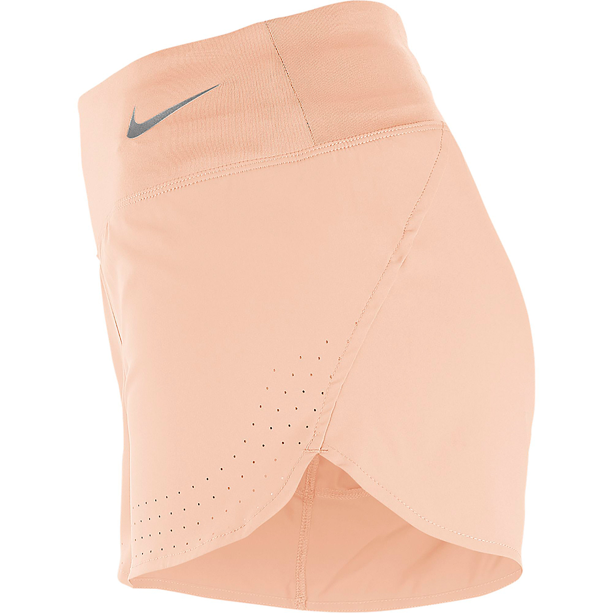 Women's Nike Eclipse Short 3in - Color: Washed Coral - Size: XS, Washed Coral, large, image 2