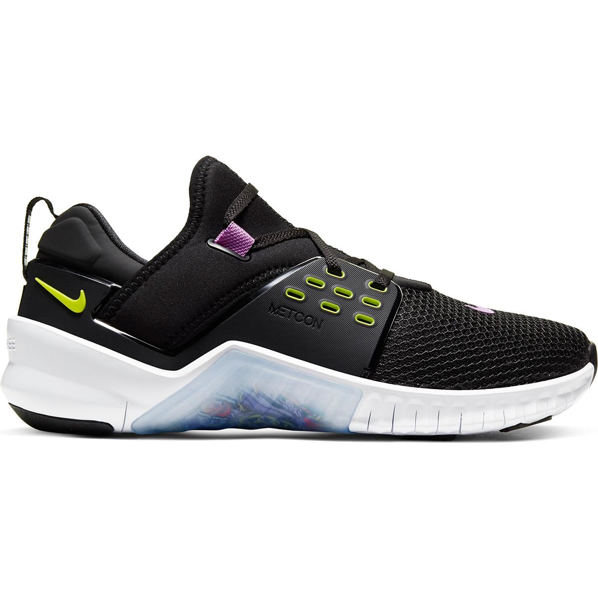 Men's Nike Free X Metcon 2 Training Shoes - Color: Black/Purple Nebula/White/Bright (Regular Width) - Size: 6, Black/Purple Nebula/White/Bright, large, image 1
