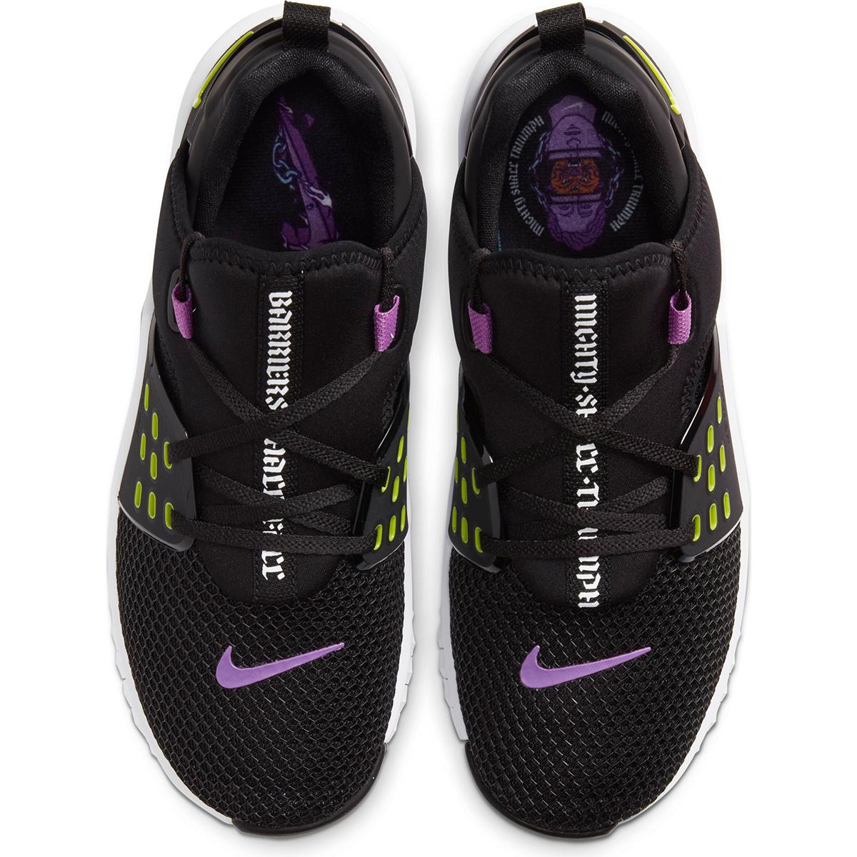 Men's Nike Free X Metcon 2 Training Shoes - Color: Black/Purple Nebula/White/Bright (Regular Width) - Size: 6, Black/Purple Nebula/White/Bright, large, image 3