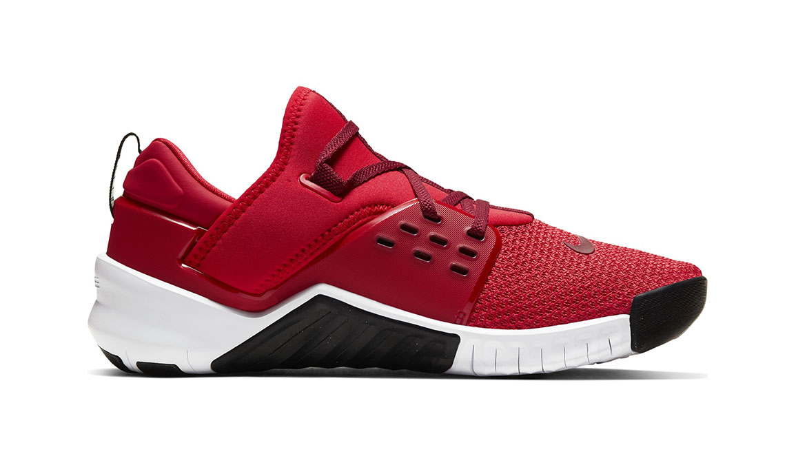 Men's Nike Free X Metcon 2 Training Shoes - Color: University Red/Team Red/Black/White (Regular Width) - Size: 6, University Red/Team Red/Black/White, large, image 1