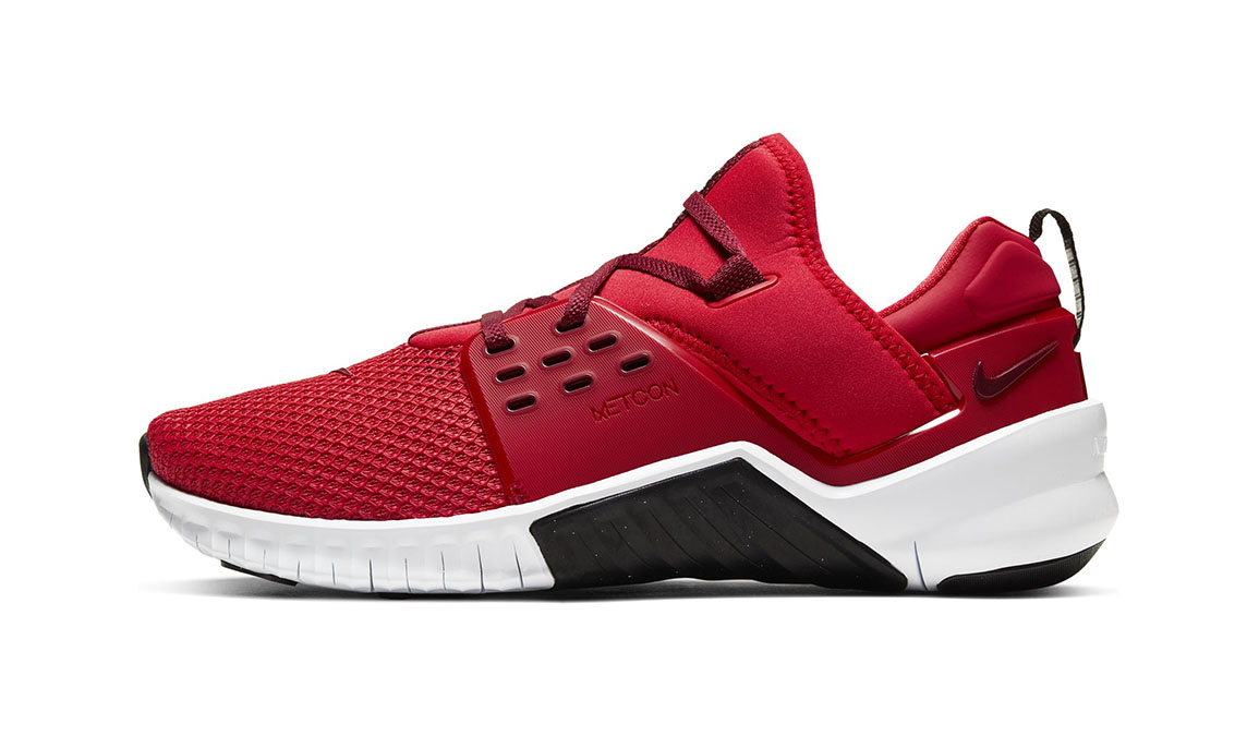 Men's Nike Free X Metcon 2 Training Shoes - Color: University Red/Team Red/Black/White (Regular Width) - Size: 6, University Red/Team Red/Black/White, large, image 2