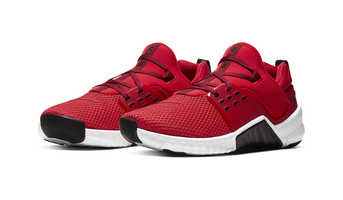 Men's Nike Free X Metcon 2 Training Shoes - Color: University Red/Team Red/Black/White (Regular Width) - Size: 6, University Red/Team Red/Black/White, large, image 3