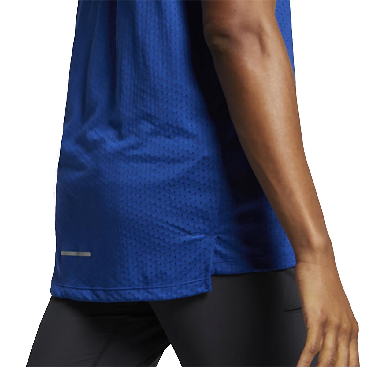Men's Nike Breathe Rise 365 Tank  - Color: Indigo Force/Reflective  - Size: M, Indigo Force/Reflective, large, image 3