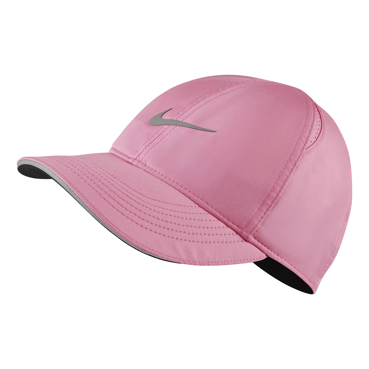 Women's Nike Featherlight Run Cap - Color: Pink Glow - Size: OS, Pink Glow, large, image 1