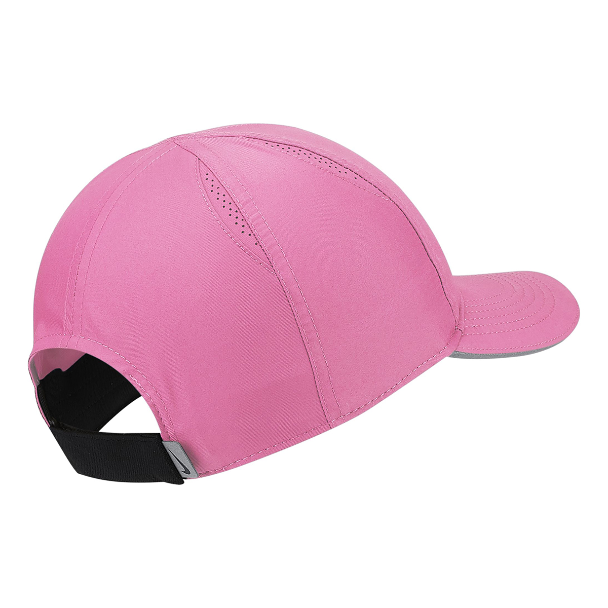 Women's Nike Featherlight Run Cap - Color: Pink Glow - Size: OS, Pink Glow, large, image 2