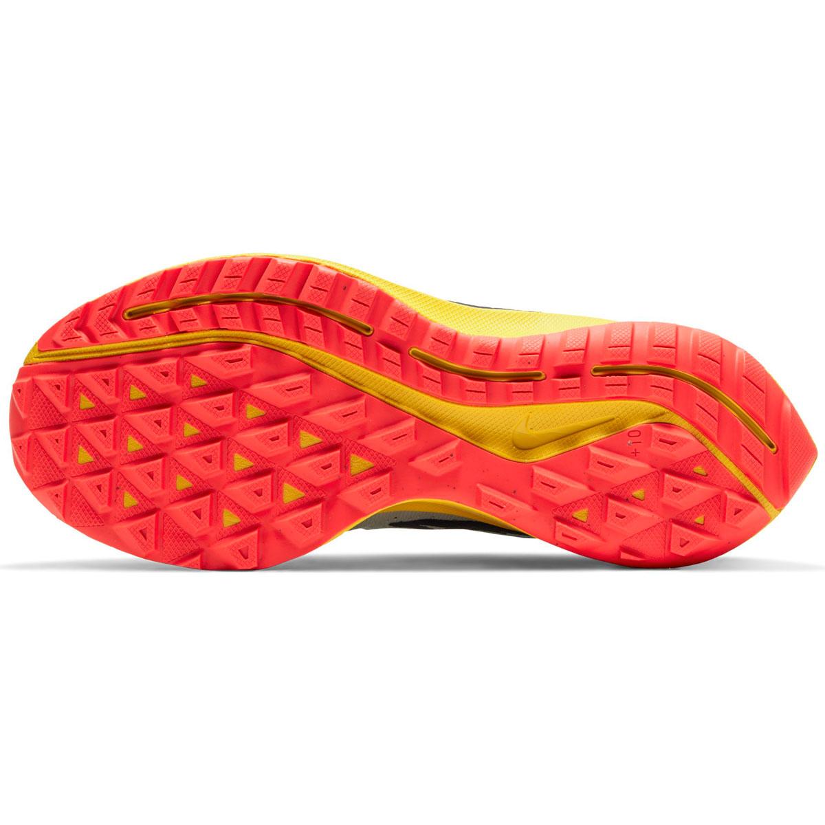 Women's Nike Air Zoom Pegasus 36 Trail Running Shoe - Color: Aura/Blackened Blue/Light Armory (Regular Width) - Size: 5, Aura/Blackened Blue/Light Armory, large, image 3