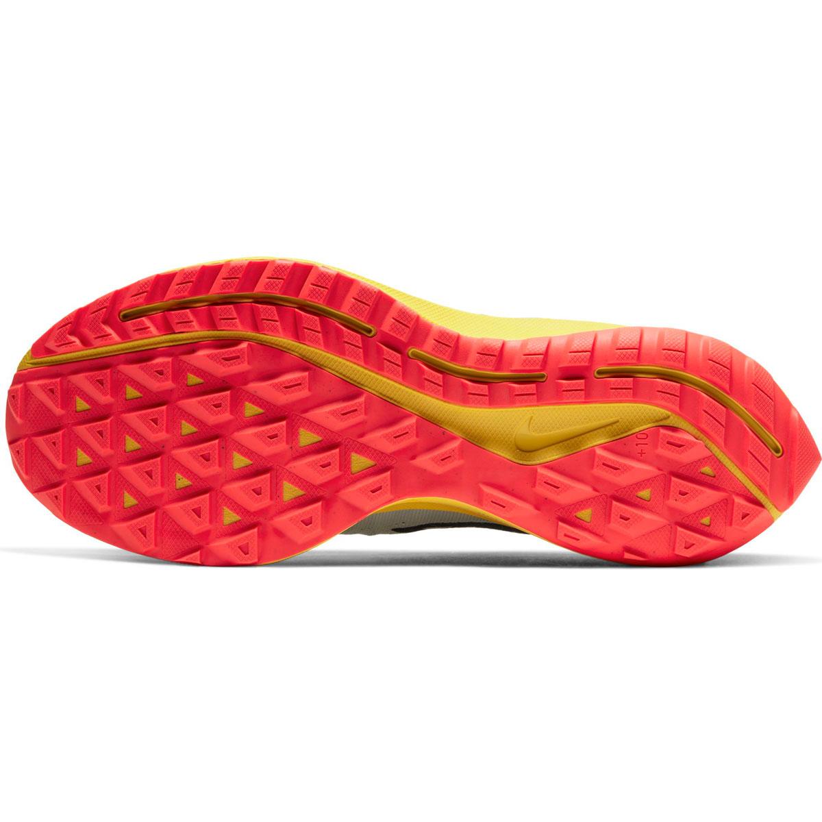 Men's Nike Air Zoom Pegasus 36 Trail Running Shoe - Color: Aura/Blackened Blue/Light Armory (Regular Width) - Size: 6, Aura/Blackened Blue/Light Armory, large, image 3