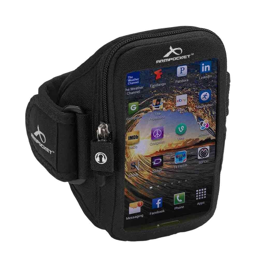 Armpocket Ultra I-35Color:Black Size:M, Black, large, image 1