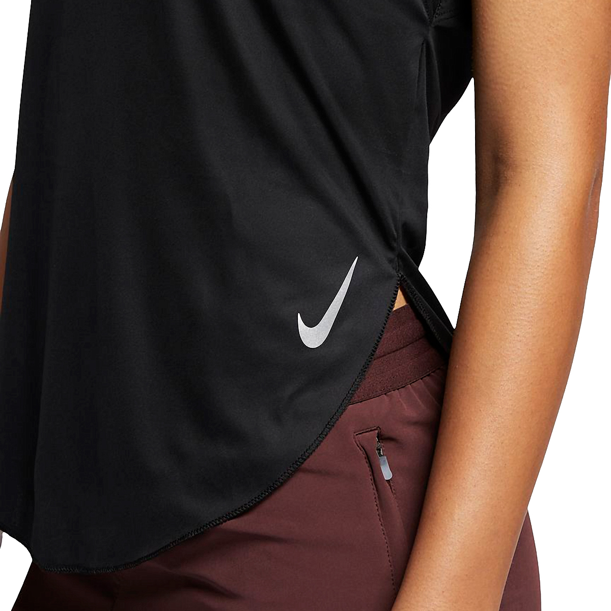 Women's Nike City Sleek Short Sleeve, , large, image 3