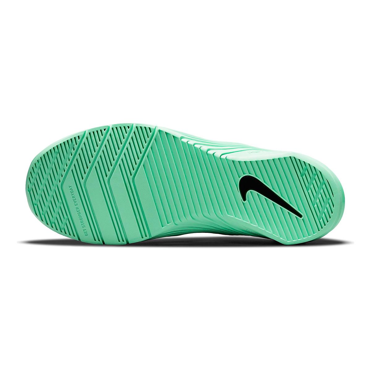 Women's Nike Metcon 6 Training Shoe - Color: White/Smoke Grey/Infinite Lilac - Size: 5 - Width: Regular, White/Smoke Grey/Infinite Lilac, large, image 3