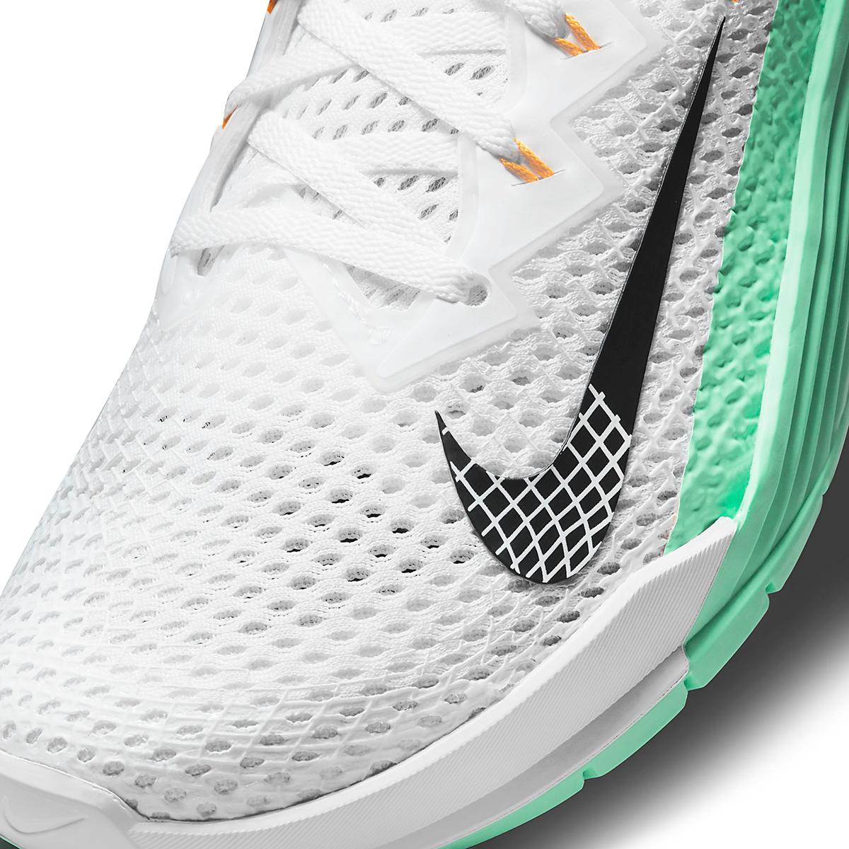Women's Nike Metcon 6 Training Shoe - Color: White/Smoke Grey/Infinite Lilac - Size: 5 - Width: Regular, White/Smoke Grey/Infinite Lilac, large, image 7