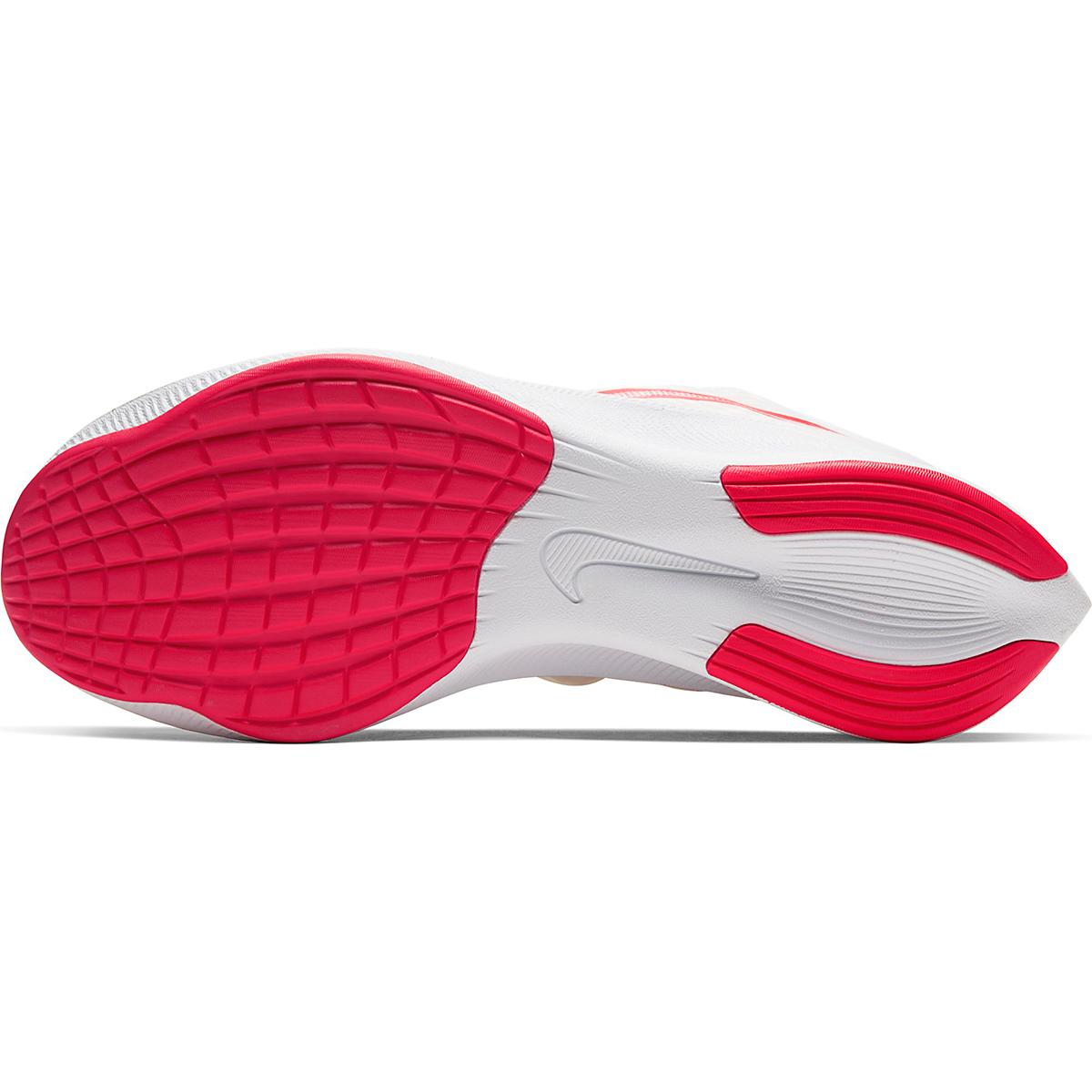 Men's Nike Zoom Fly 3 Running Shoe - Color: White/Laser Crimson - Size: 6 - Width: Regular, White/Laser Crimson, large, image 3